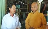 Lãnh đạo huyện Châu Thành thăm các cơ sở tôn giáo