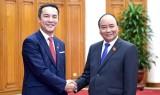 Thủ tướng Nguyễn Xuân Phúc tiếp Thống đốc tỉnh Mie Nhật Bản