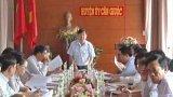 Phó Bí thư Thường trực Tỉnh ủy kiểm tra việc thực hiện Nghị quyết Đại hội Đảng tại Cần Giuộc
