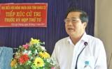 Đại biểu HĐND tỉnh Long An tiếp xúc cử tri xã Đức Lập Thượng và thị trấn Hậu Nghĩa