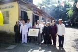 Nhà ông Nguyễn Văn Huệ - cơ sở hoạt động cách mạng xã Mỹ An Phú được công nhận di tích lịch sử cấp tỉnh
