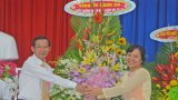 Long An: Một số địa phương, trường học họp mặt kỷ niệm 34 năm Ngày Nhà giáo Việt Nam