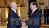 Chủ tịch nước Trần Đại Quang hội đàm với Tổng thống Peru