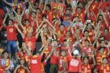Cổ động viên hào hứng trước chiến thắng của đội tuyển Việt Nam