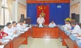 Bí thư Tỉnh ủy Long An kiểm tra việc thực hiện Nghị quyết Đại hội Đảng tại Sở Kế hoạch và Đầu tư