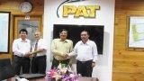 Bí thư Huyện ủy Bến Lức thăm và làm việc với KCN Phú An Thạnh