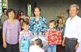 Báo Công an TP.HCM tặng nhà tình thương tại xã Đông Thạnh