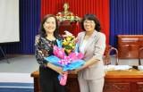 Bà Lê Thị Thu Cúc đắc cử Phó Chủ tịch Liên đoàn Lao động tỉnh Long An
