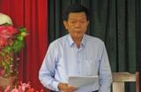 Phó Bí thư Tỉnh ủy, Chủ tịch UBND tỉnh-Trần Văn Cần kiểm tra việc thực hiện Nghị quyết của Đảng tại xã Khánh Hưng