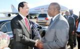 Chủ tịch nước bắt đầu chuyến tham dự Hội nghị Cấp cao Pháp ngữ