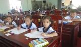 """Trên 90 thí sinh tham dự Hội thi """"Vẽ tranh cấp huyện, bậc Tiểu học"""""""
