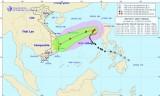 Bão số 9 cách quần đảo Hoàng Sa 620km, giật cấp 11-12