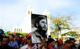 Người Cuba tập trung tại Quảng trường Cách mạng tưởng nhớ Fidel Castro