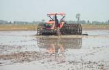 Lũ rút chậm ảnh hưởng tiến độ gieo sạ lúa vụ Đông Xuân