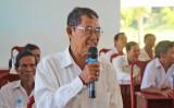 Cử tri huyện Thủ Thừa đặc biệt quan tâm về vấn đề an toàn thực phẩm