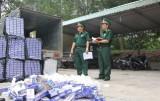 Nổ súng bắt 7.200 gói thuốc lá ngoại nhập lậu