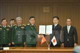 Việt Nam-Nhật Bản tiến hành đối thoại chính sách quốc phòng lần 4