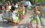Thị trấn Thủ Thừa hoàn thành các tiêu chí thị trấn văn minh đô thị