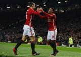 Ibrahimovic và Martial lập cú đúp, Manchester United vùi dập West Ham