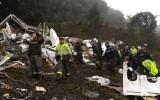 Máy bay chở cầu thủ Brazil bị rơi do cạn nhiên liệu?