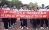Đức Hòa mittinh hưởng ứng Tháng hành động quốc gia phòng, chống HIV/AIDS