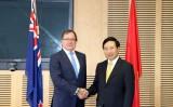 Việt Nam-New Zealand phấn đấu đưa kim ngạch thương mại lên 1,7 tỷ USD