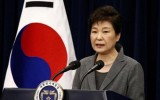 Tổng thống Hàn Quốc Park Geun-hye bị đình chỉ chức vụ