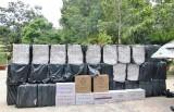 Bắt xuồng máy vận chuyển trên 10 ngàn gói thuốc lá nhập lậu