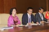 Chủ tịch QH tiếp Bộ trưởng, Quốc vụ khanh phụ trách Khoan dung UAE