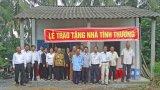 Thủ Thừa: Vận động gần 6 tỉ đồng hoạt động an sinh xã hội