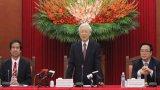 Tổng Bí thư tiếp đại biểu dự Hội thảo Quốc tế Việt Nam học lần thứ 5