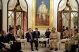 Bộ trưởng Bộ Công an Tô Lâm gặp Thủ tướng Thái Lan