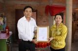 Đảng ủy khối Các cơ quan tỉnh Long An trao nhà tình nghĩa