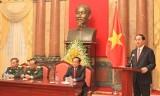 Chủ tịch nước: Không thể lơ là trước âm mưu của các thế lực thù địch
