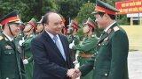 Thủ tướng Nguyễn Xuân Phúc thăm Lữ đoàn 242
