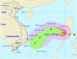 Bão Nock-ten đã vào Biển Đông, giật cấp 14-15