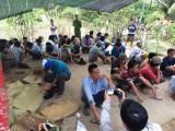 Công an nổ súng hốt gọn trường gà ở Tiền Giang