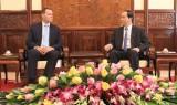 Chủ tịch nước Trần Đại Quang tiếp Đại sứ Cộng hòa Séc