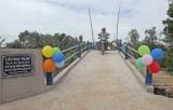 Bến Lức khánh thành cầu giao thông nông thôn Rọc Trâm