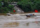 Việt-Trung tuần tra chung trên sông Hồng trong ngày đầu năm mới