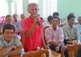 Đại biểu HĐND tỉnh Long An tiếp xúc cử tri Tân Thạnh