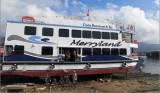 Đà Nẵng: Hạ thủy tàu du lịch bằng Composit đầu tiên