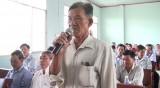 Đại biểu HĐND tỉnh: Tiếp xúc cử tri Châu Thành, Bến Lức và Đức Hòa