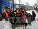 Lũ lụt hoành hành ở miền Nam Thái Lan làm nhiều người thiệt mạng