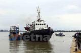 Lai dắt tàu cá cùng 10 ngư dân gặp nạn về đất liền an toàn