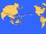 Chưa rõ nguyên nhân khiến cáp quang biển quốc tế AAG bị đứt
