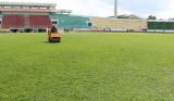 Sân Long An sẵn sàng cho mùa giải 2017
