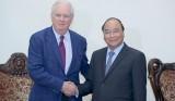 Thủ tướng Nguyễn Xuân Phúc tiếp giáo sư Đại học Harvard