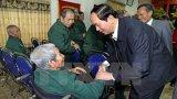 Chủ tịch nước thăm Trung tâm điều dưỡng thương binh Nho Quan