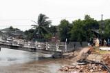 Cà Mau: Sập cầu Cả Trăng, 3 bà cháu đều rơi xuống sông